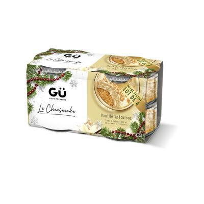 Gü - cheesecakes gü-yorkais au speculoos (4x80g) (Gü desserts)