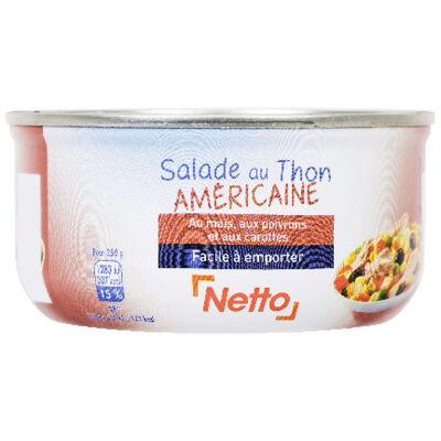 Salade au thon méditerranéenne - 250 g (Netto)