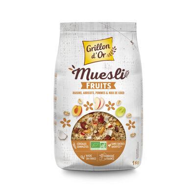 Muesli fruits 1kg go ab* (Grillon d'or)