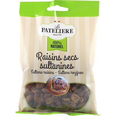 La pateliere / fruits secs / raisins secs sultanines / 125 g (La patelière)