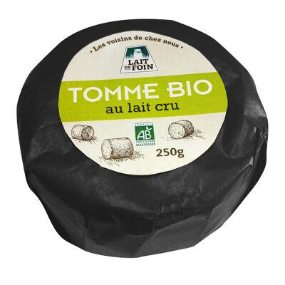 Tomme bio au lait cru de foin 250g (Les voisins de chez nous)