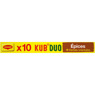 Maggi bouillon kub duo epices + herbes orientales 105g (Maggi)
