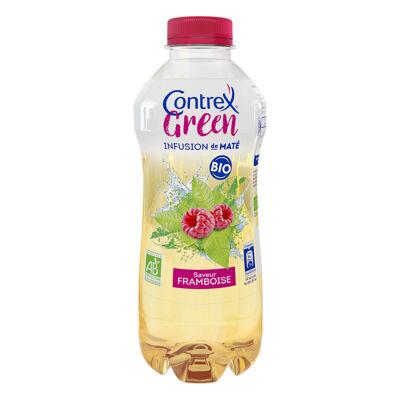 Contrexgreen bio infusion de maté saveur framboise à base d'eau minérale contrex 75cl (Contrex)