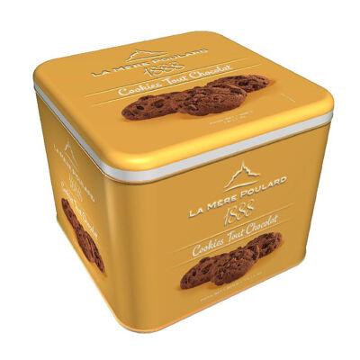 Coffret fer cookies tout chocolat 400g - gamme 1888 (La mère poulard)