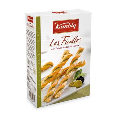 Ficelles olives 100g - kambly - 100g (Kambly)