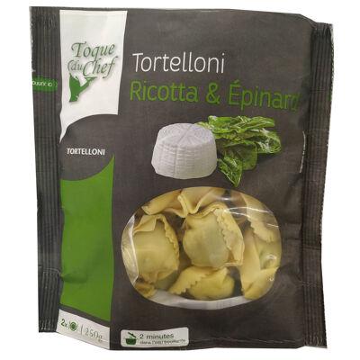 Tortelloni ricotta & épinards (Toque du chef)