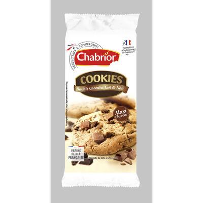 Cookies double chocolat lait & noir (Chabrior)