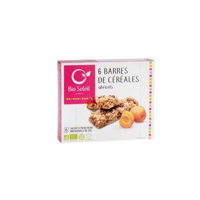 Barres céréales & abricot 125 gr (Bio soleil)
