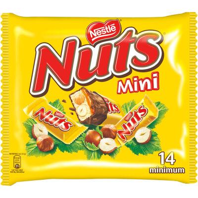 Nuts mini barre chocolatée sachet 332g (Nestle)