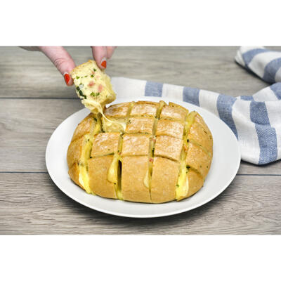 Pain herisson montagnard-fromage montagne fondu&lardon vpf 300g (Mix buffet)