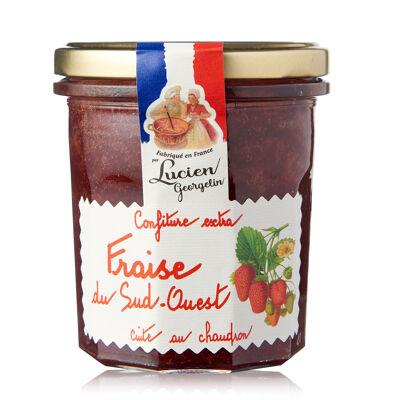 Conf extra fraise du sud-ouest 350g - recettes au chaudron (Les recettes cuites au chaudron)