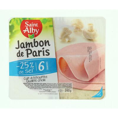 Jambon de paris -25% de sel ()