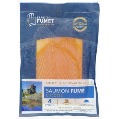Saumon écossais fumé 160g - 4 tranches (Le petit fumet en rhône-alpes)