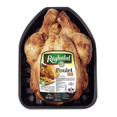 Bq poulet roti cuit sous atmosphere reghalal (Réghalal)