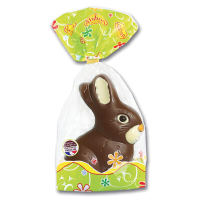 Lapin assis decore 200 grs (Rohan)