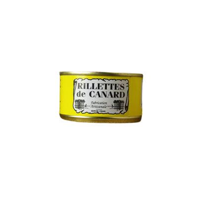 Rillettes de canard boite 130 grs (Conserverie duplaceau)