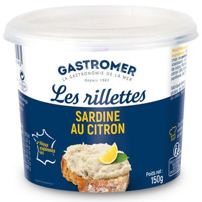 Rillettes de sardine au citron 150g gastromer (Gastromer)