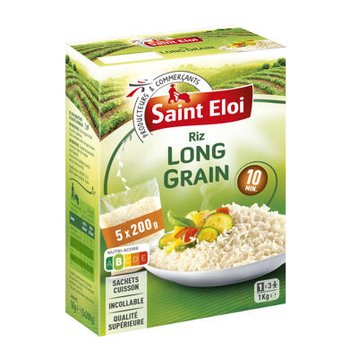 Riz long grain 10 min (Saint eloi)