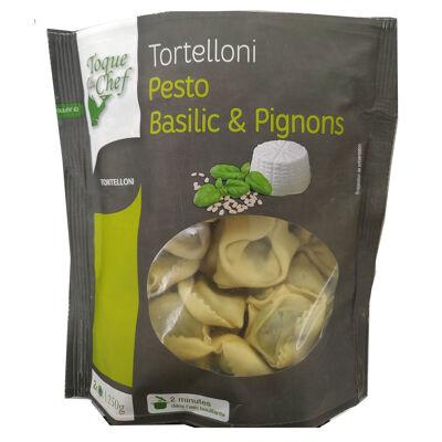 Tortelloni pesto basilic & pignons (Toque du chef)