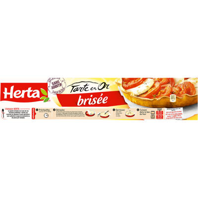 Herta tarte en or pâte brisée 230g (Herta)
