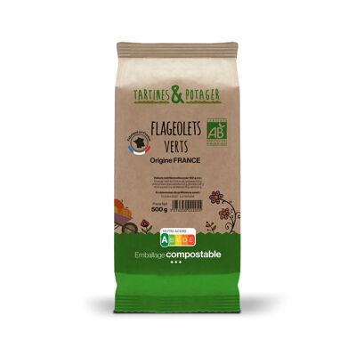 Flageolets verts bio france 500g (Tartines & potager)