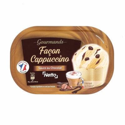 Bac façon cappuccino (cg) - 900ml (Netto)