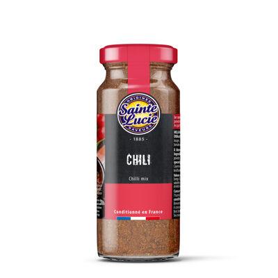 Chili poudre flacon 45g (Sainte lucie)