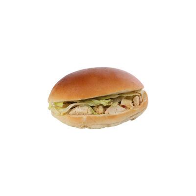 Sandwich poulet rôti et sauce au curry (Le kiosque a sandwiches)