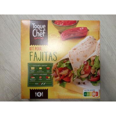 Kit pour fajitas (Toque du chef)