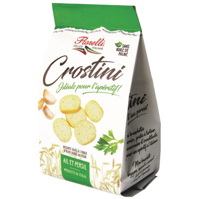 Crostini ail et persil 100g (Florelli)