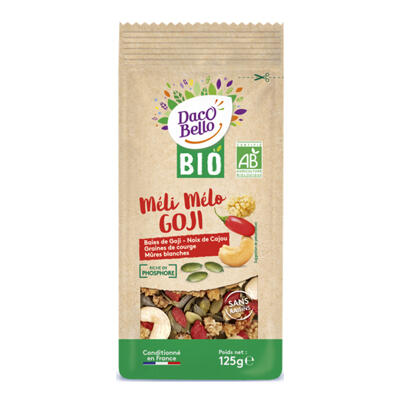 Bio méli mélo goji 125g (Daco bello)