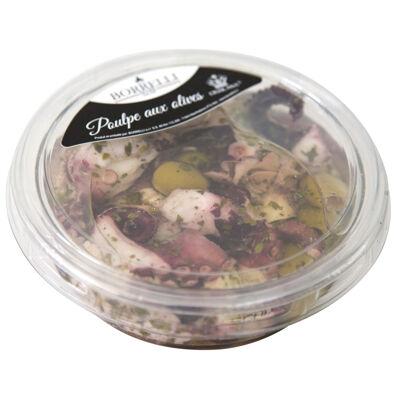 Salade de poulpe aux olives 245g (Borrelli)