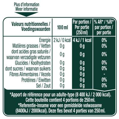 Perrier boisson à l'eau minérale naturelle gazeuse à l'arôme de citron vert 1l (Perrier)