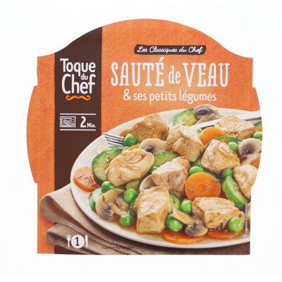 Sauté de veau & ses petits légumes (Toque du chef)