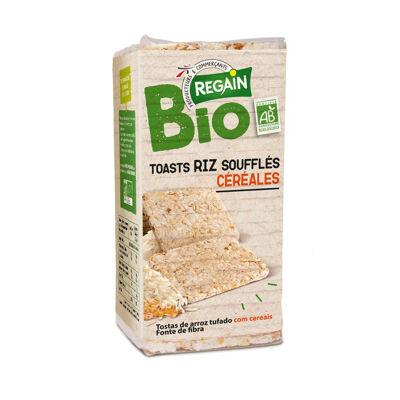 Toasts riz soufflés céréales bio (Regain)