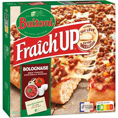 Buitoni fraich'up pizza surgelée bolognaise 600g (Buitoni)