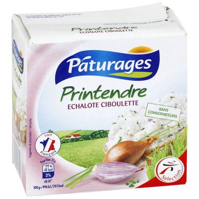 Fromage printendre échalote ciboulette (Paturages)
