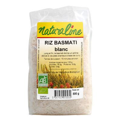 Riz basmati blanc bio 500 g (Naturaline)