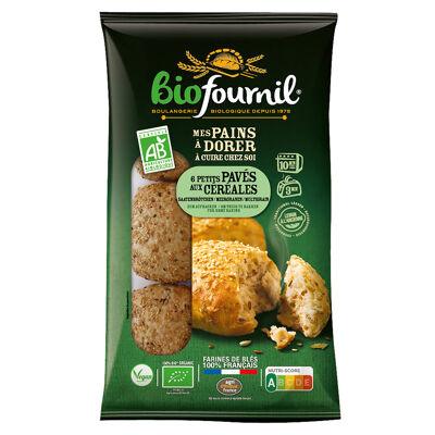 Petits pavés aux céréales bio 6x60g (Biofournil)