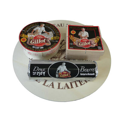 Plateau trio normand beurre doux gillot 720g (Gillot)