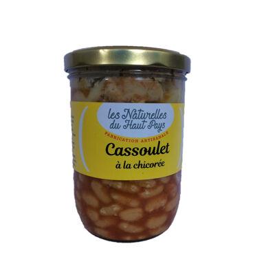 Cassoulet a la chicoree verrine 750g (Les naturelles du haut pays)