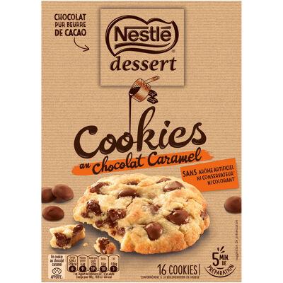 Nestle dessert préparation pour cookies au chocolat caramel 336g (Nestle)