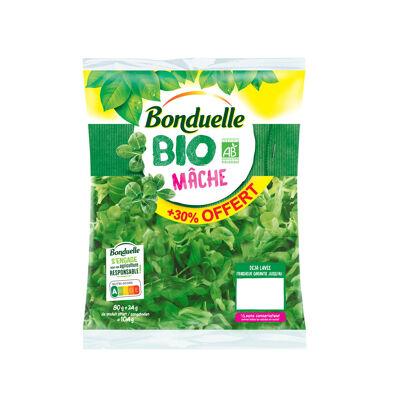 Mâche bio 80g+30% (Bonduelle)