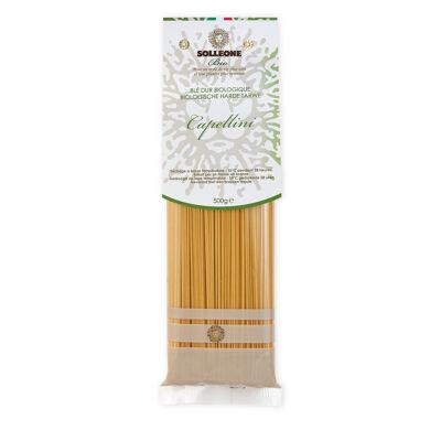 Capellini au blé dur tréfilés au bronze (Solleone bio)