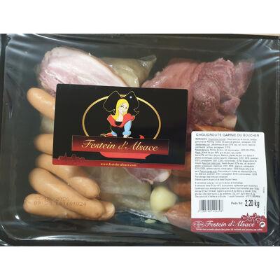 Choucroute du boucher (Festein d'alsace)