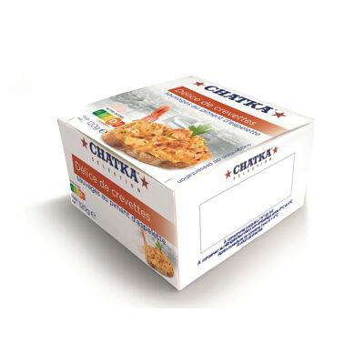 Délices à tartiner crevettes sauvages aux piments d'espelette 120 g (Chatka)
