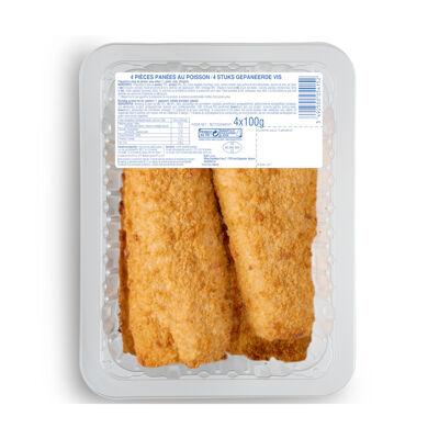 Panés au poisson, cuits, réfrigérés (No name)