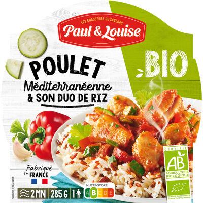 Bio poulet méditerranéenne paul&louise barquette 285g (Paul & louise)