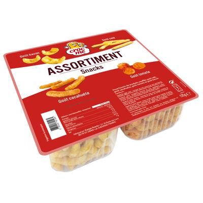 Assortiment snacks 125g (Croc me)