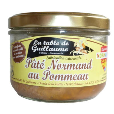 Pâté normand au pommeau 190g (La table de guillaume)